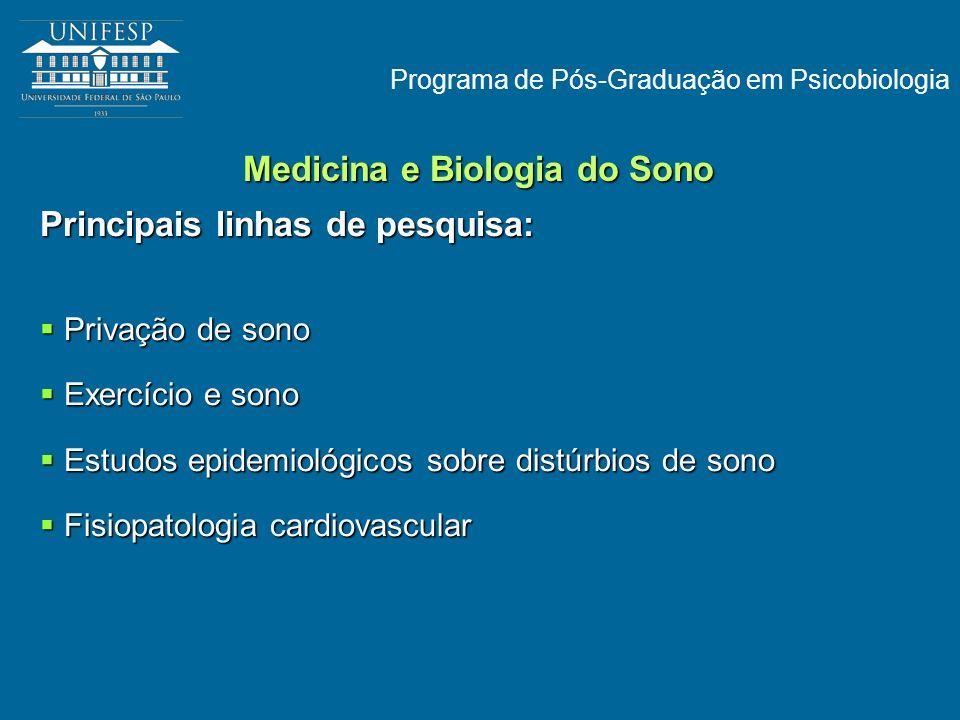 Medicina e Biologia do Sono