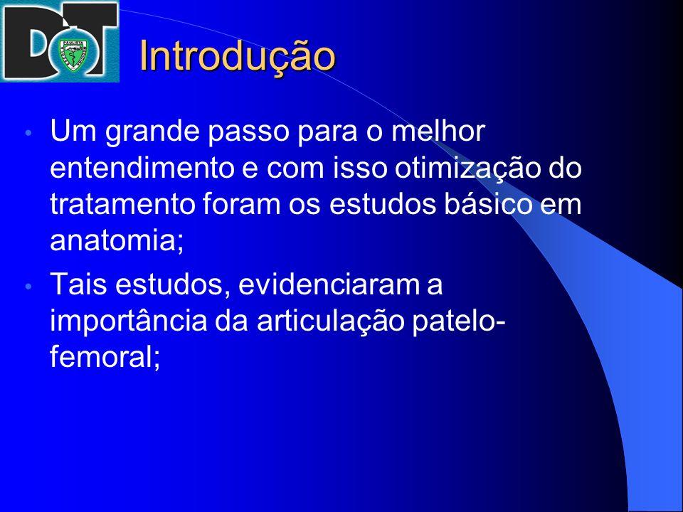 Introdução Um grande passo para o melhor entendimento e com isso otimização do tratamento foram os estudos básico em anatomia;