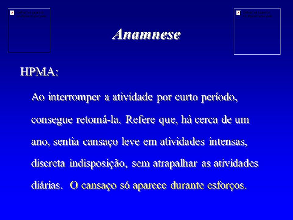 Anamnese HPMA: