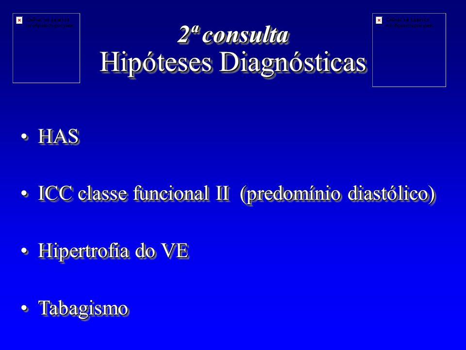 Hipóteses Diagnósticas