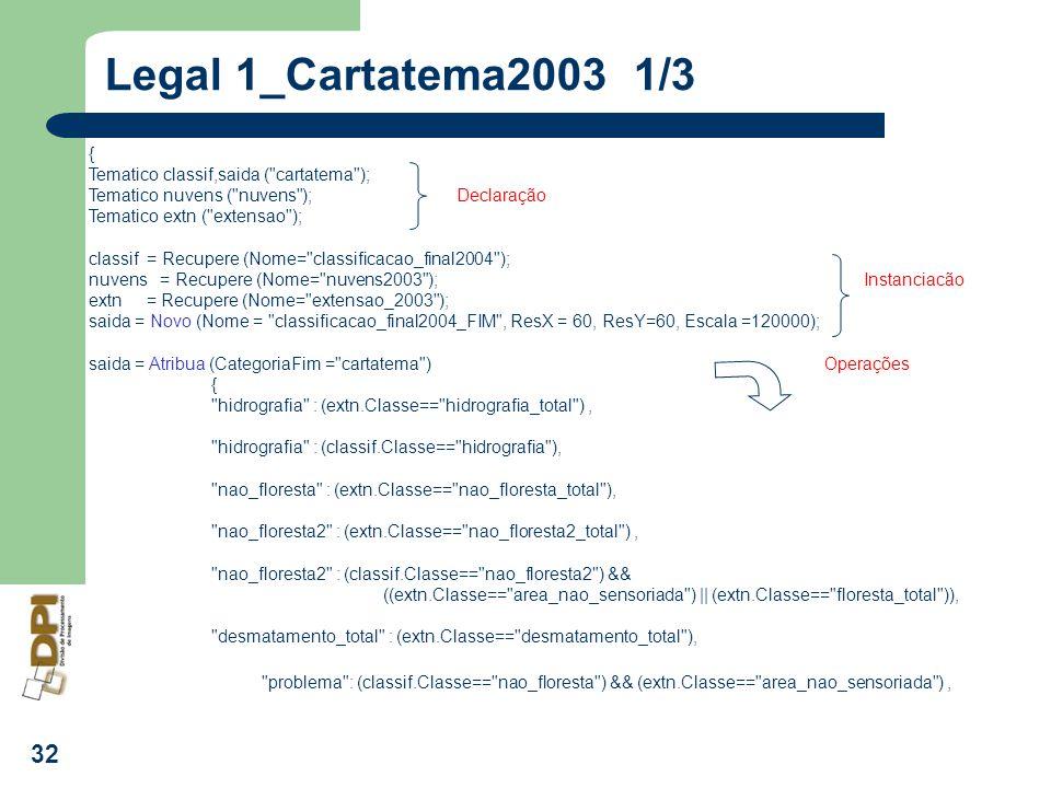 Legal 1_Cartatema2003 1/3 { Tematico classif,saida ( cartatema );