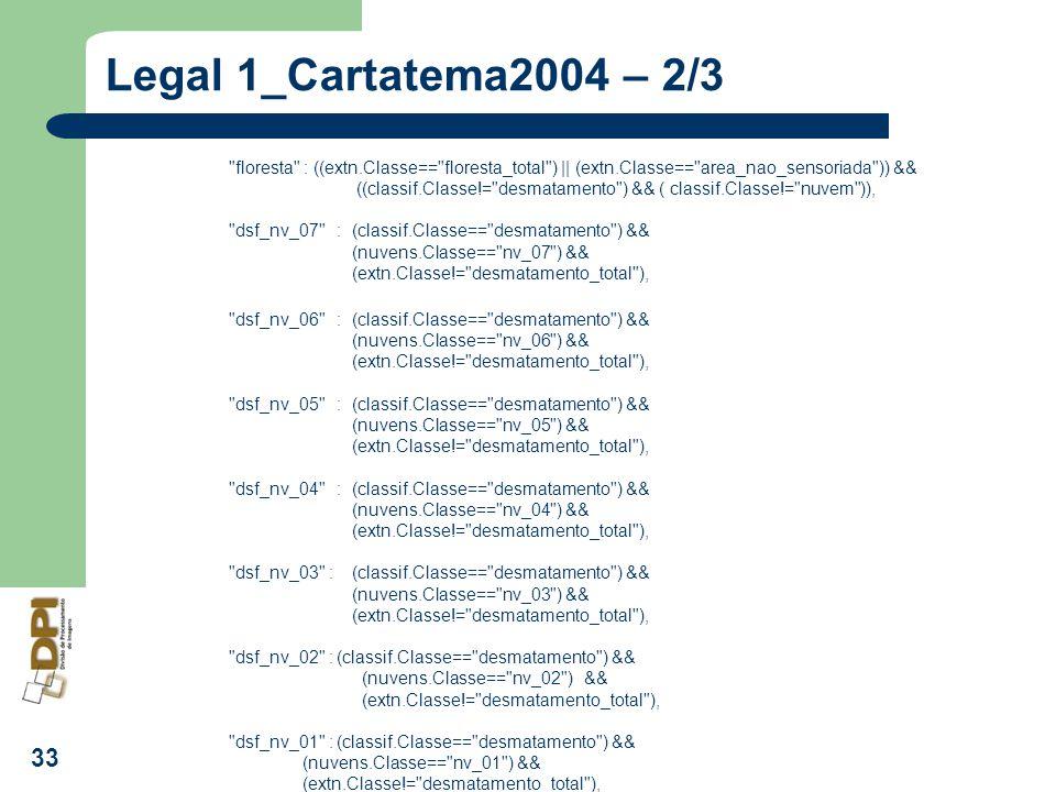 Legal 1_Cartatema2004 – 2/3 floresta : ((extn.Classe== floresta_total ) || (extn.Classe== area_nao_sensoriada )) &&