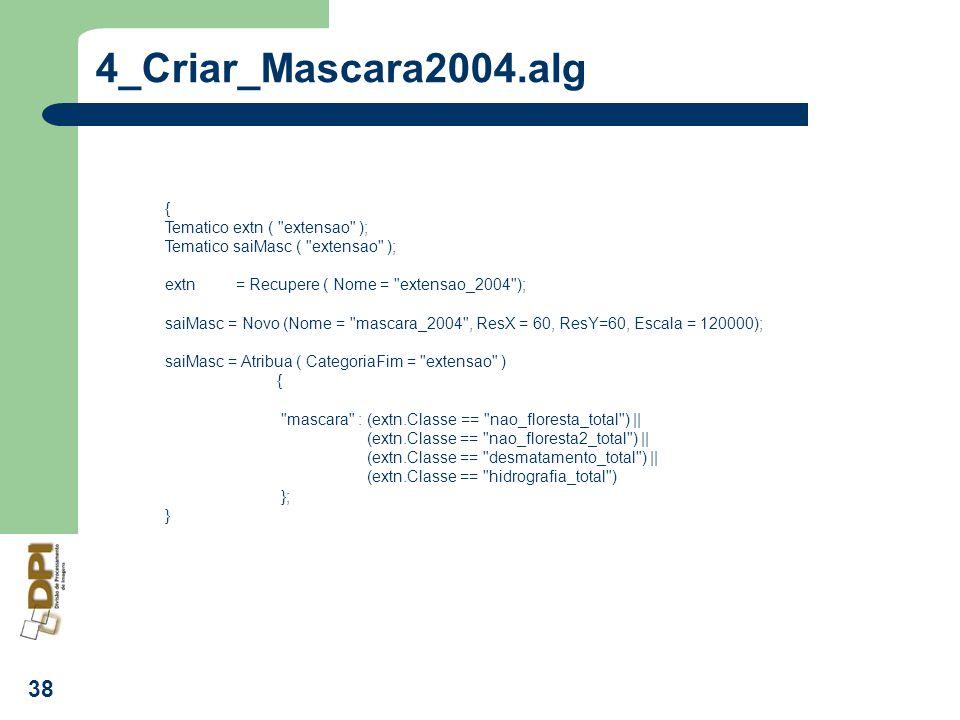 4_Criar_Mascara2004.alg { Tematico extn ( extensao );