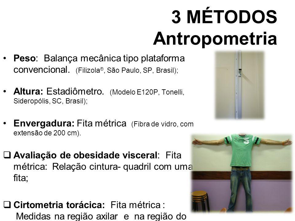 3 MÉTODOS Antropometria