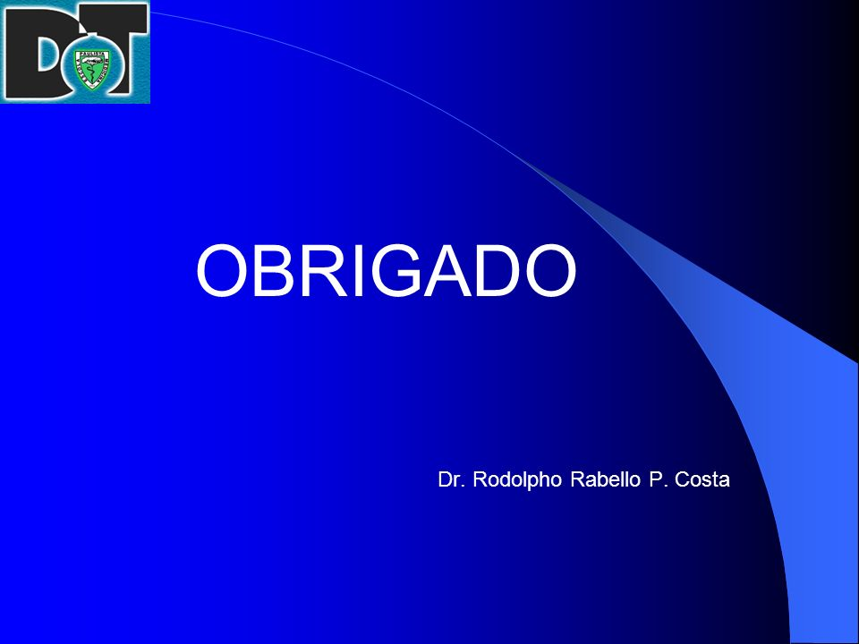 Dr. Rodolpho Rabello P. Costa