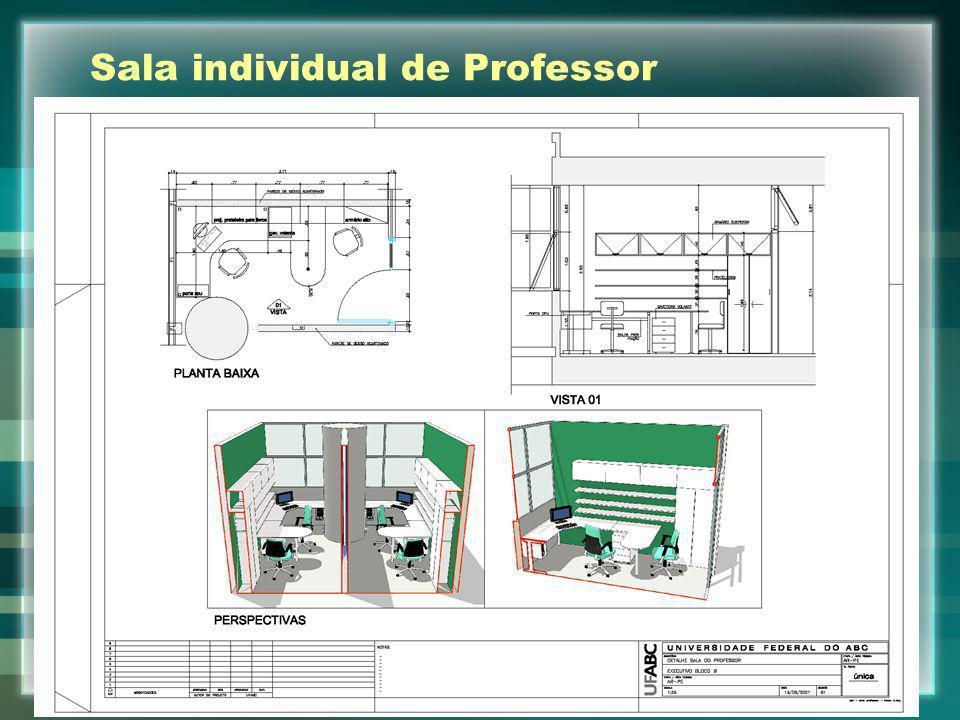 Sala individual de Professor