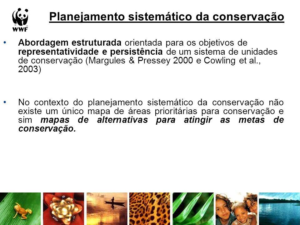 Planejamento sistemático da conservação
