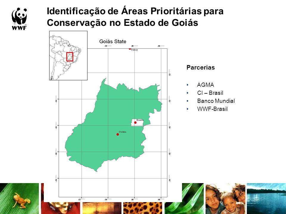Identificação de Áreas Prioritárias para Conservação no Estado de Goiás