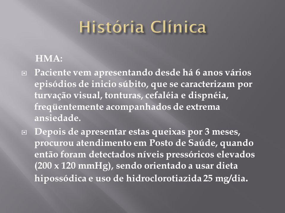 História Clínica HMA: