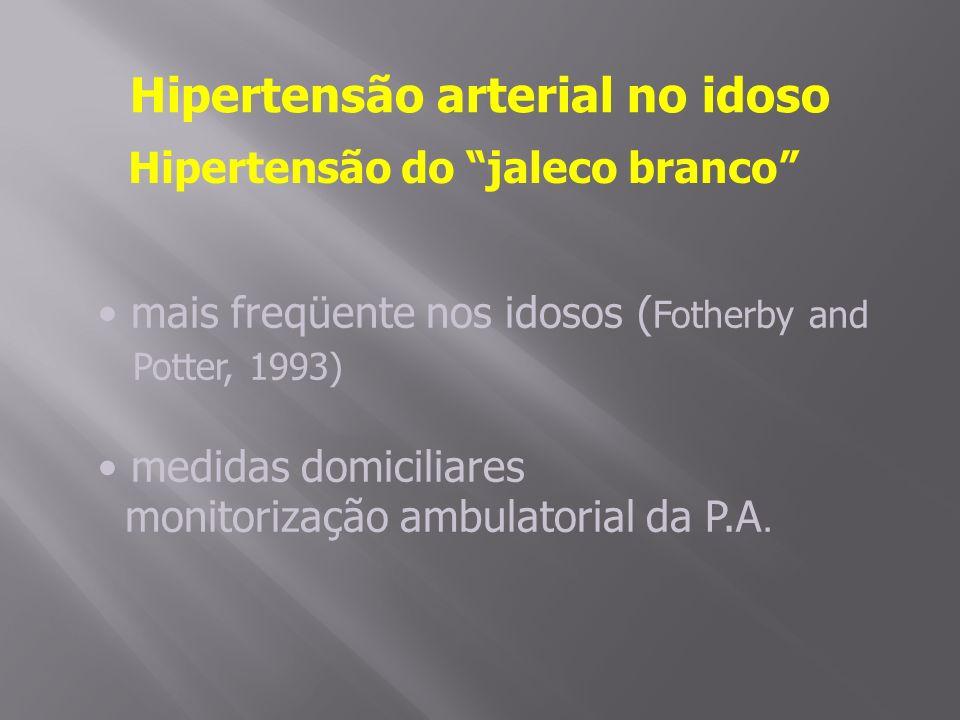Hipertensão arterial no idoso