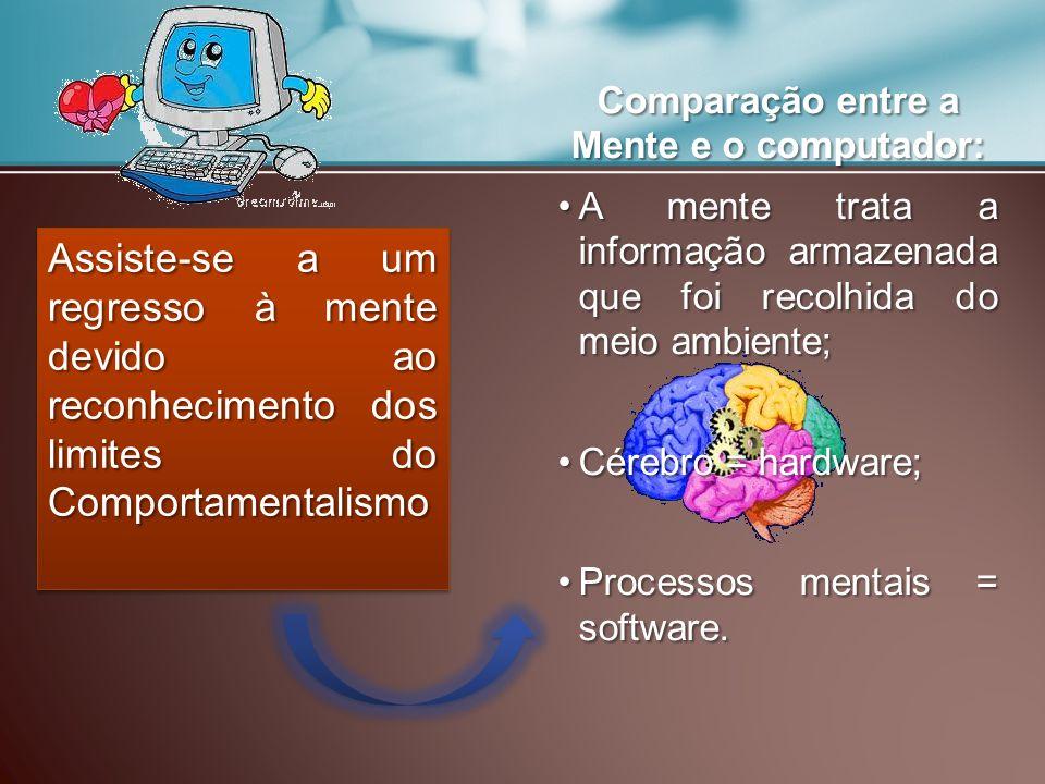 Comparação entre a Mente e o computador: