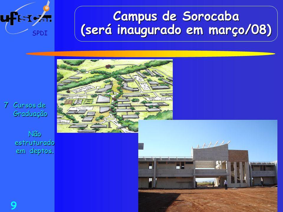 Campus de Sorocaba (será inaugurado em março/08)