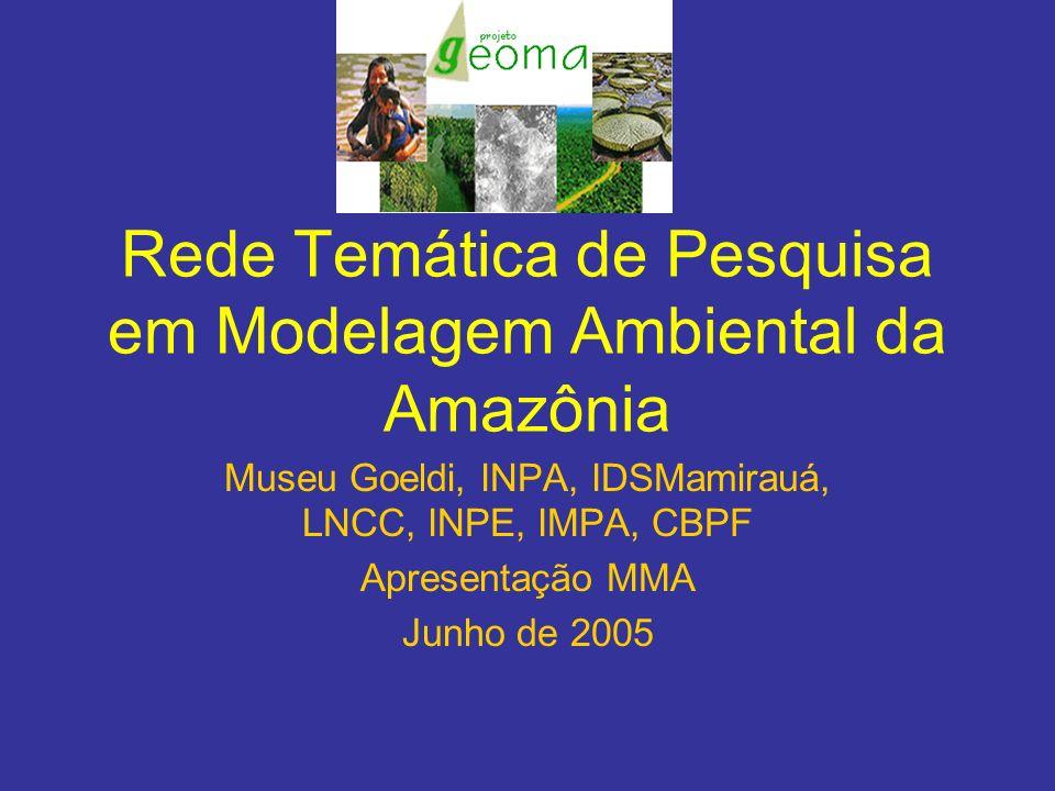 Rede Temática de Pesquisa em Modelagem Ambiental da Amazônia