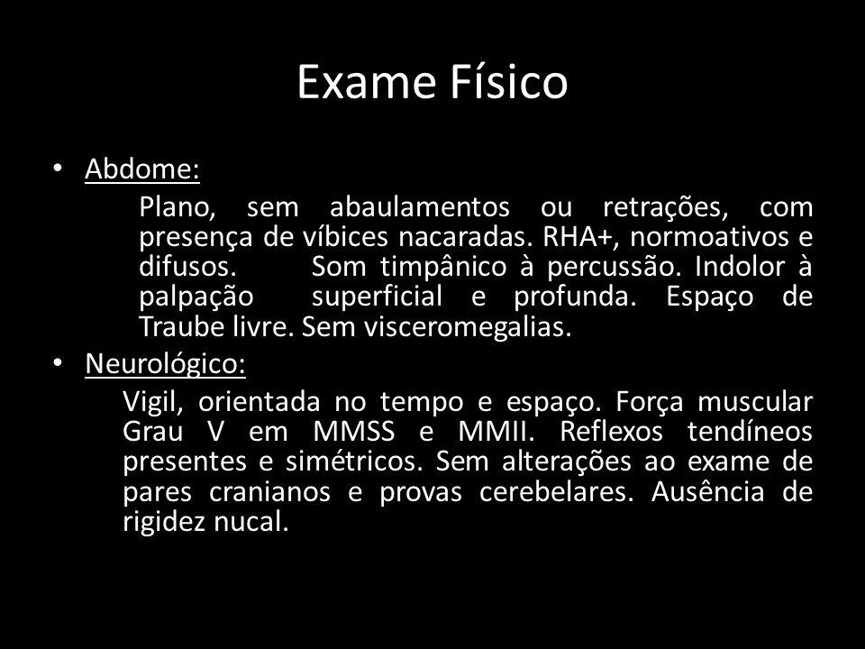 Exame Físico Abdome: