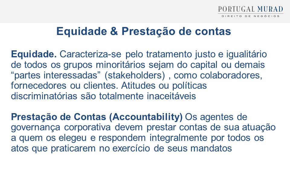Equidade & Prestação de contas
