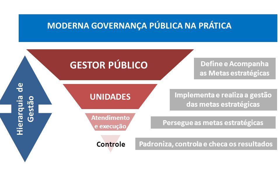 GESTOR PÚBLICO MODERNA GOVERNANÇA PÚBLICA NA PRÁTICA UNIDADES