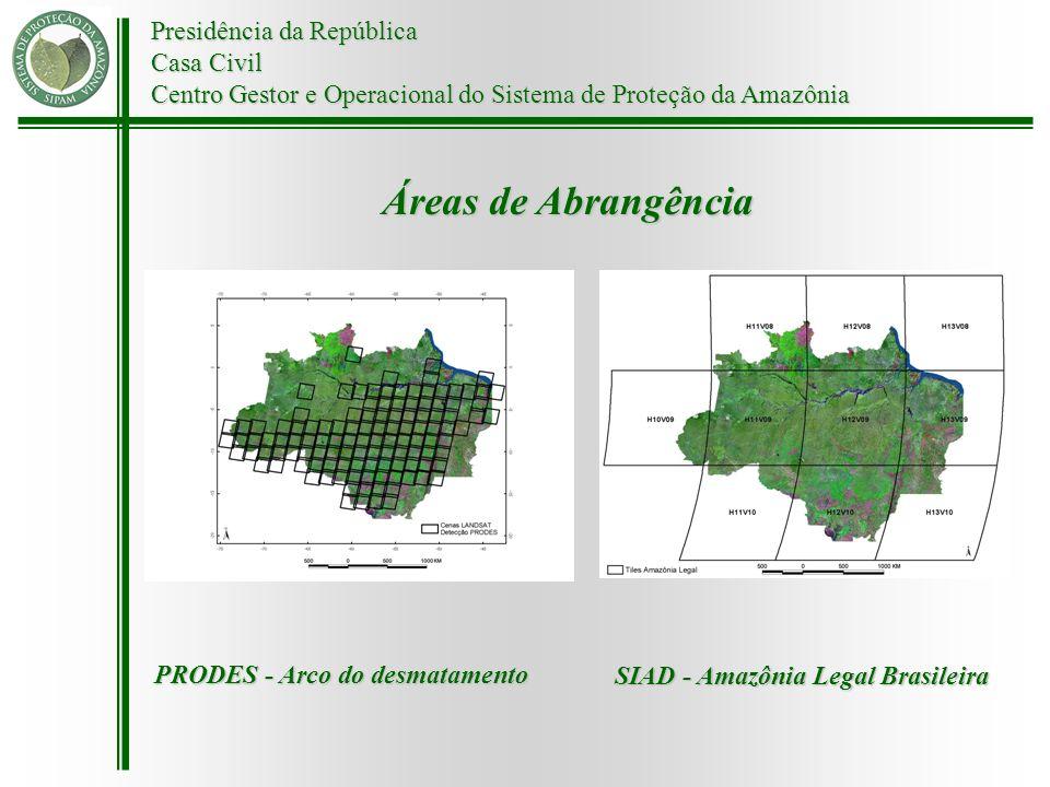 Áreas de Abrangência Presidência da República Casa Civil