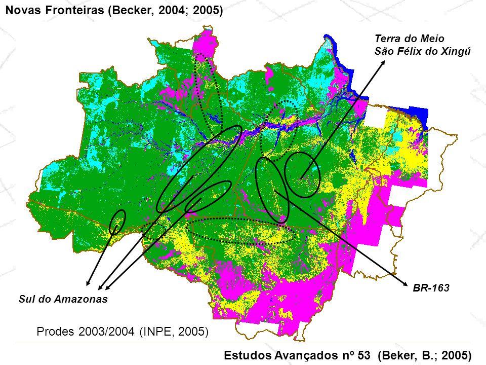 Novas Fronteiras (Becker, 2004; 2005)