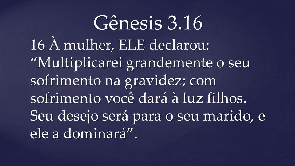 Gênesis 3.16