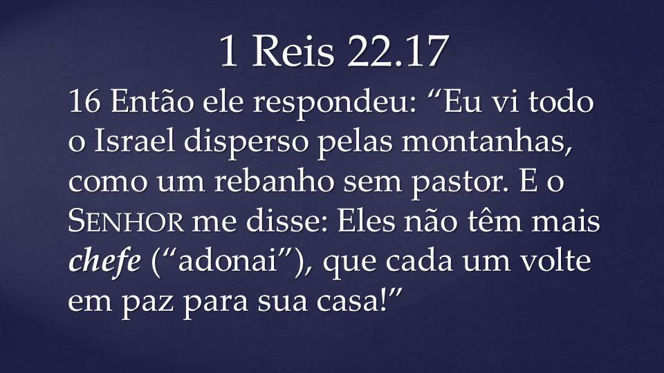 1 Reis 22.17
