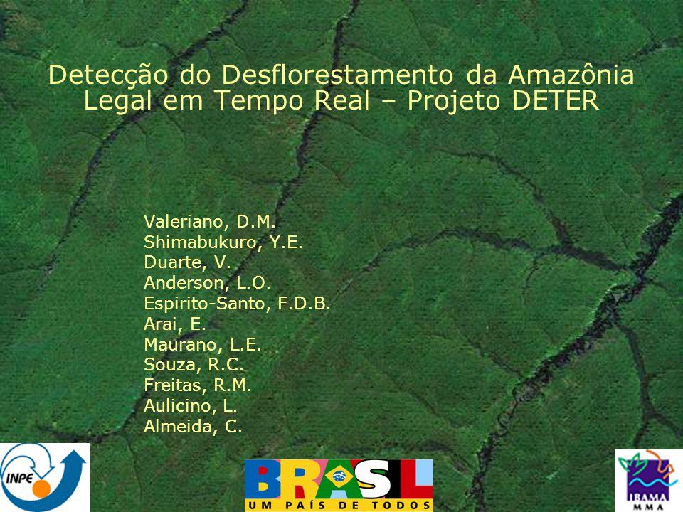 Detecção do Desflorestamento da Amazônia Legal em Tempo Real – Projeto DETER