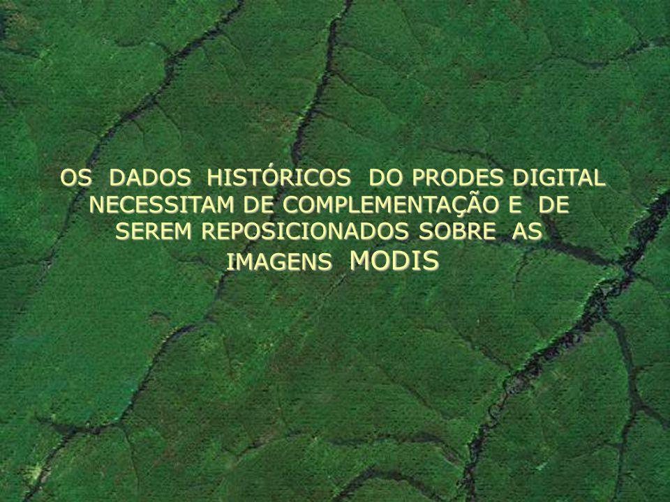 OS DADOS HISTÓRICOS DO PRODES DIGITAL