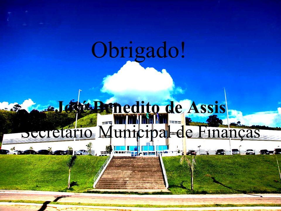 José Benedito de Assis Secretário Municipal de Finanças