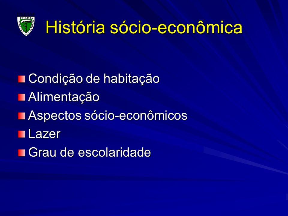 História sócio-econômica