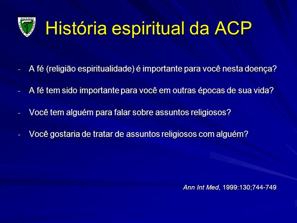 História espiritual da ACP