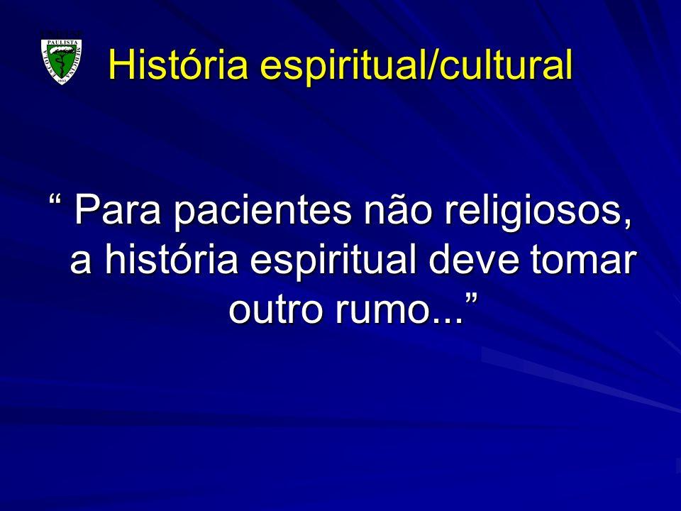 História espiritual/cultural