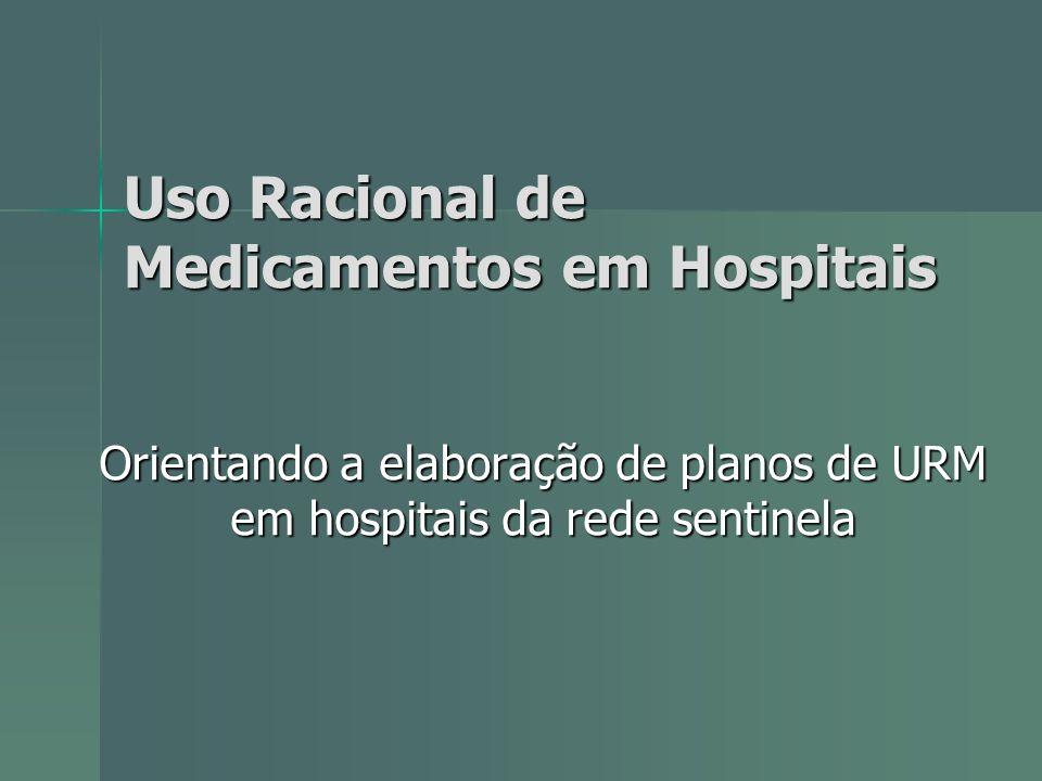 Uso Racional de Medicamentos em Hospitais