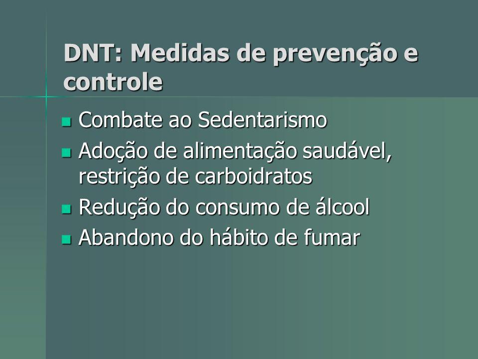 DNT: Medidas de prevenção e controle