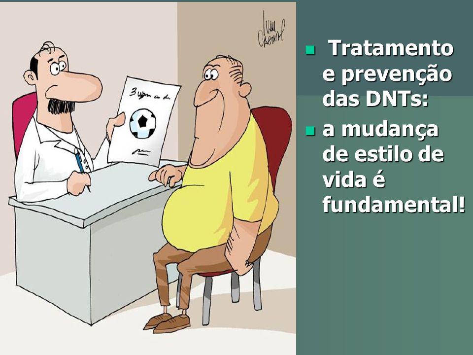 Tratamento e prevenção das DNTs: