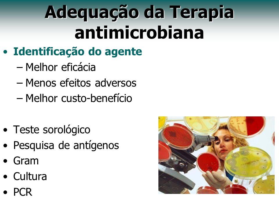 Adequação da Terapia antimicrobiana