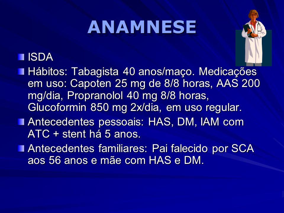 ANAMNESE ISDA.