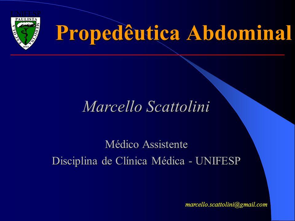 Propedêutica Abdominal