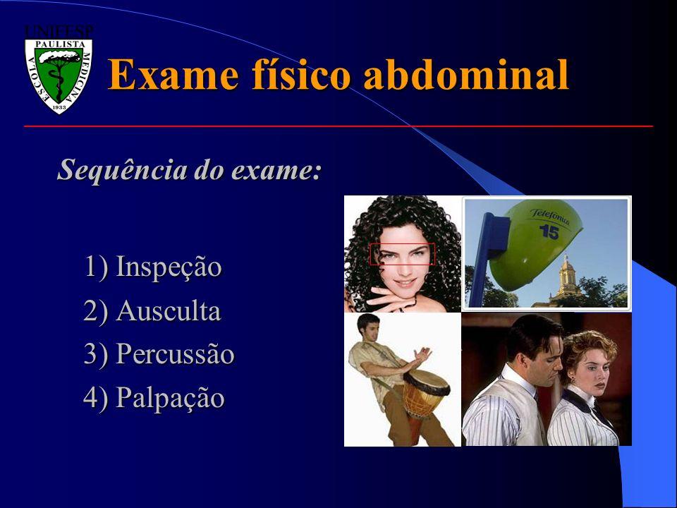 Exame físico abdominal