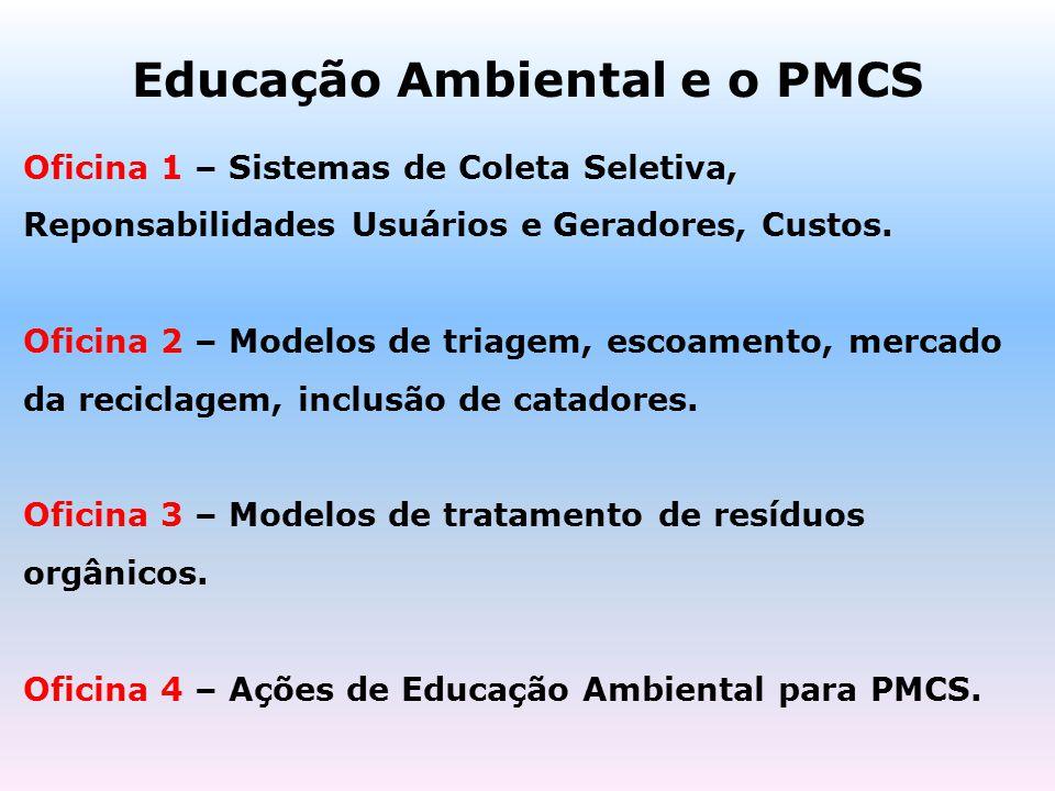 Educação Ambiental e o PMCS