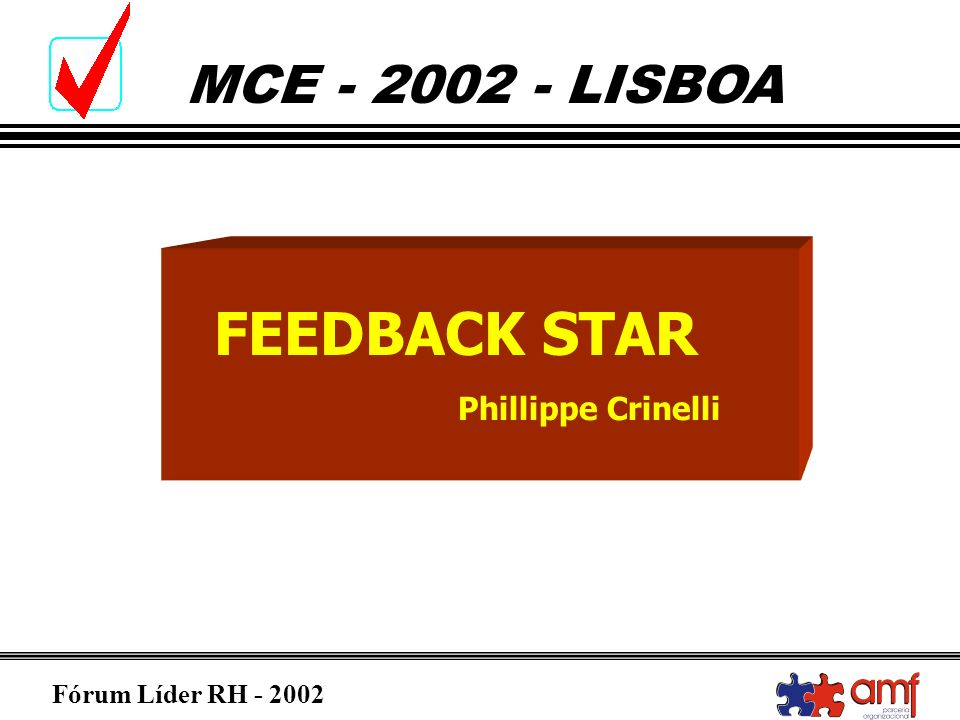 FEEDBACK STAR Phillippe Crinelli