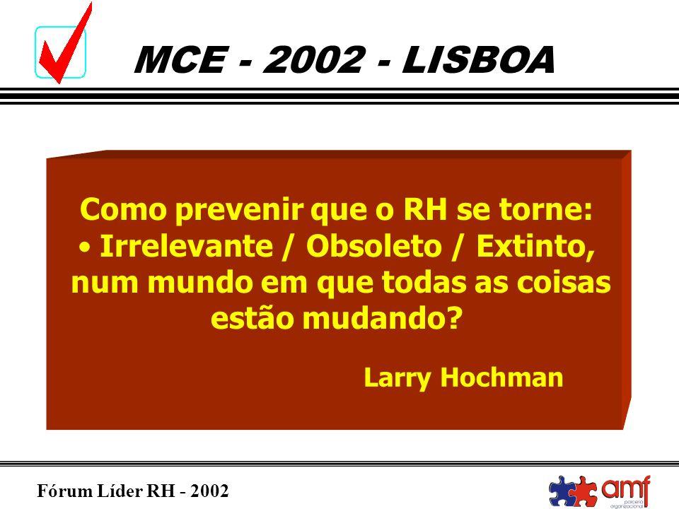 Como prevenir que o RH se torne: Irrelevante / Obsoleto / Extinto,