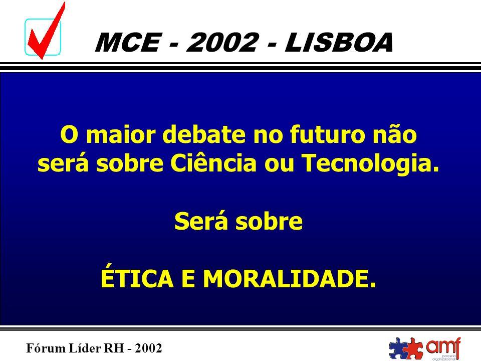 O maior debate no futuro não será sobre Ciência ou Tecnologia.