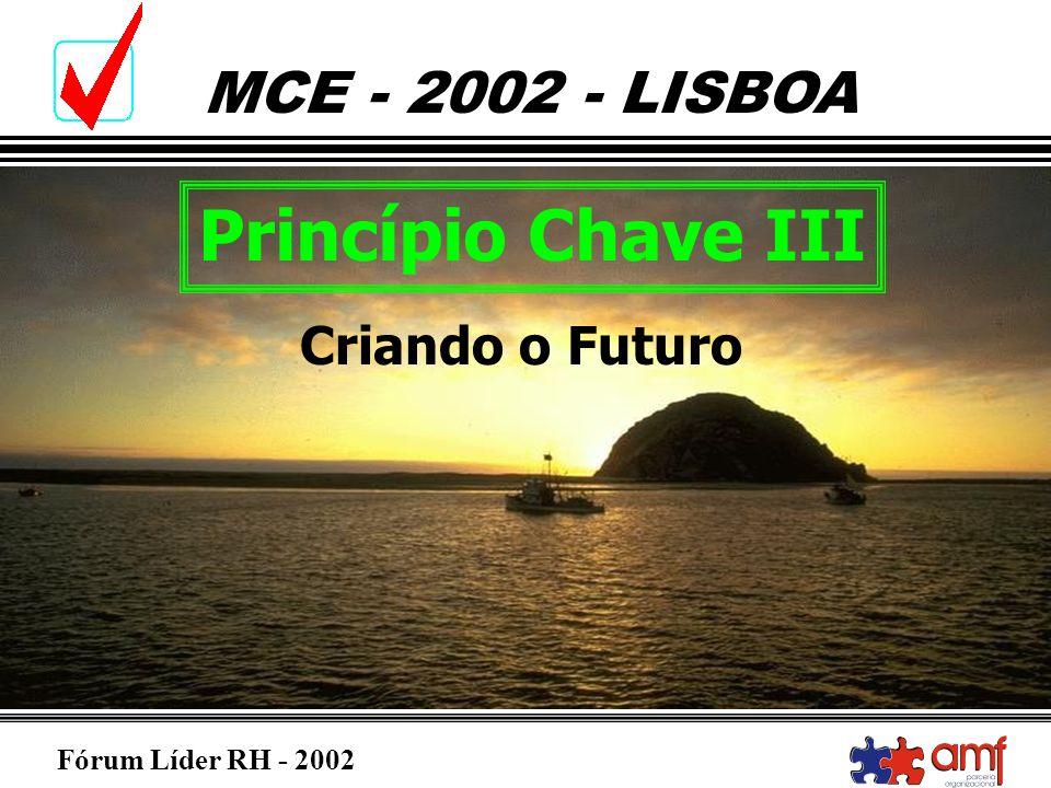 Princípio Chave III Criando o Futuro