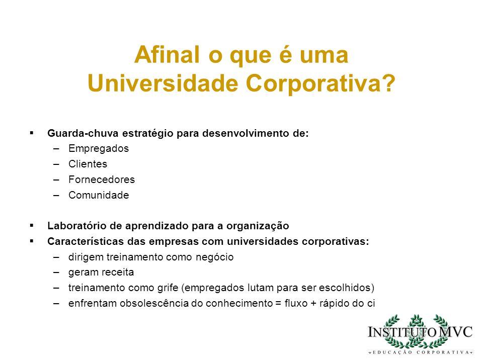 Afinal o que é uma Universidade Corporativa
