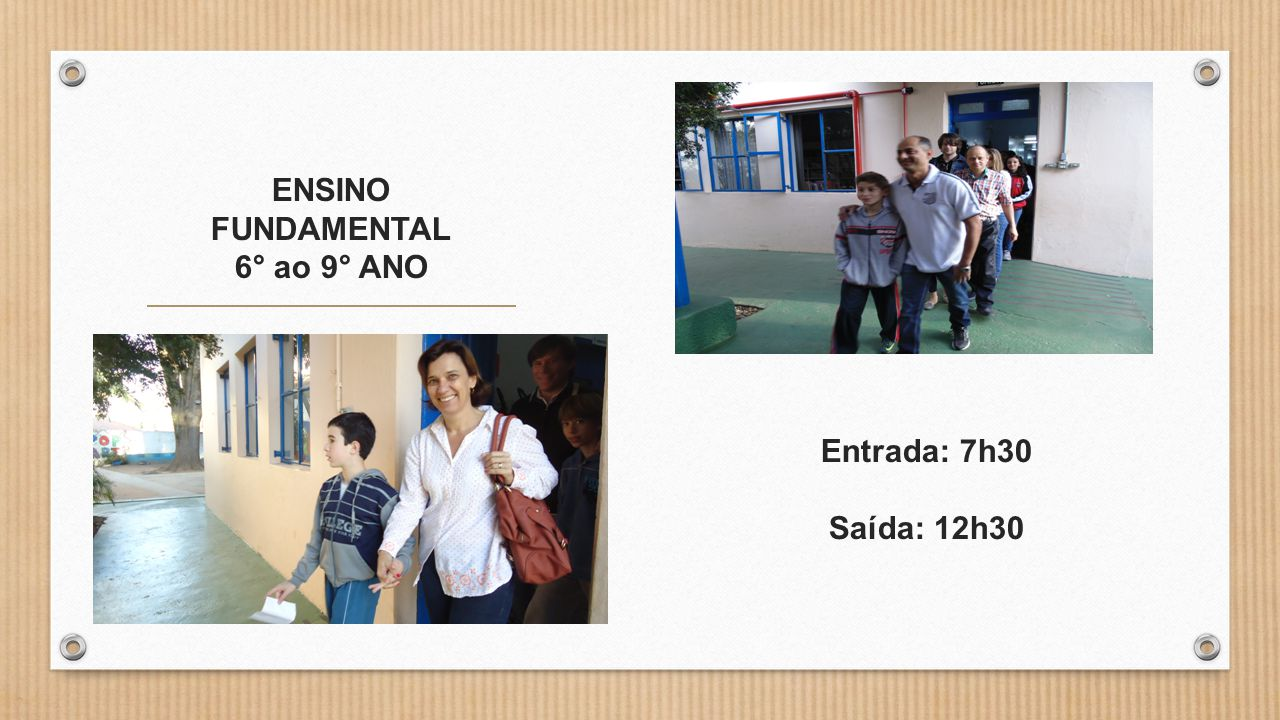 ENSINO FUNDAMENTAL 6° ao 9° ANO