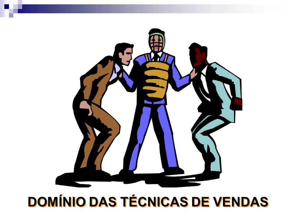 DOMÍNIO DAS TÉCNICAS DE VENDAS