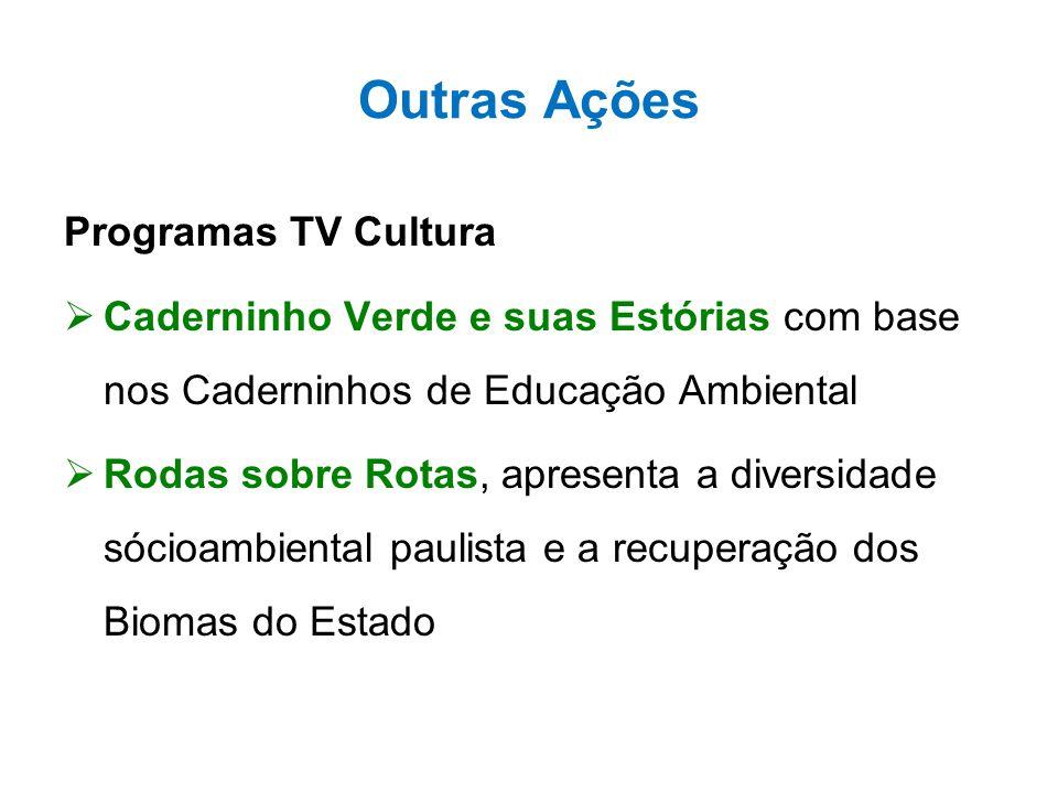 Outras Ações Programas TV Cultura