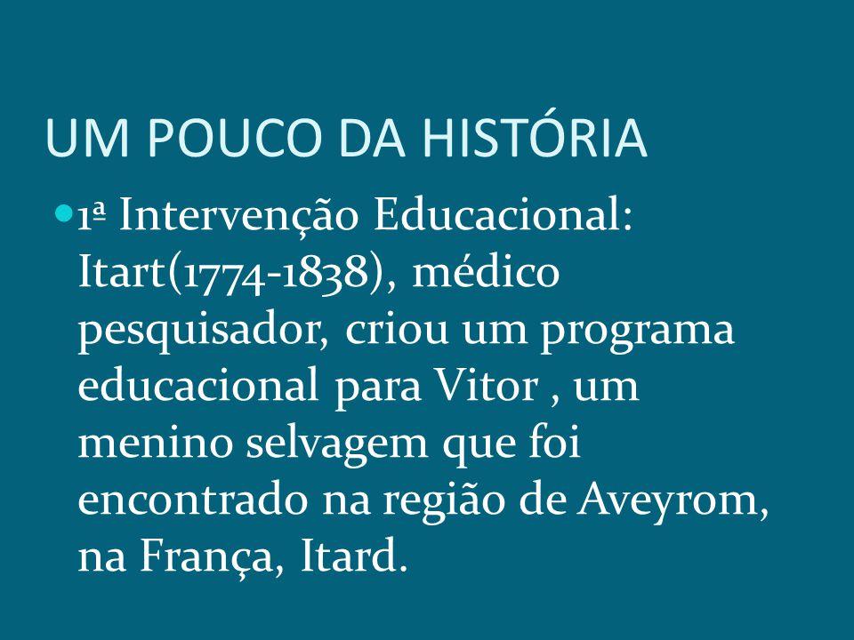 UM POUCO DA HISTÓRIA