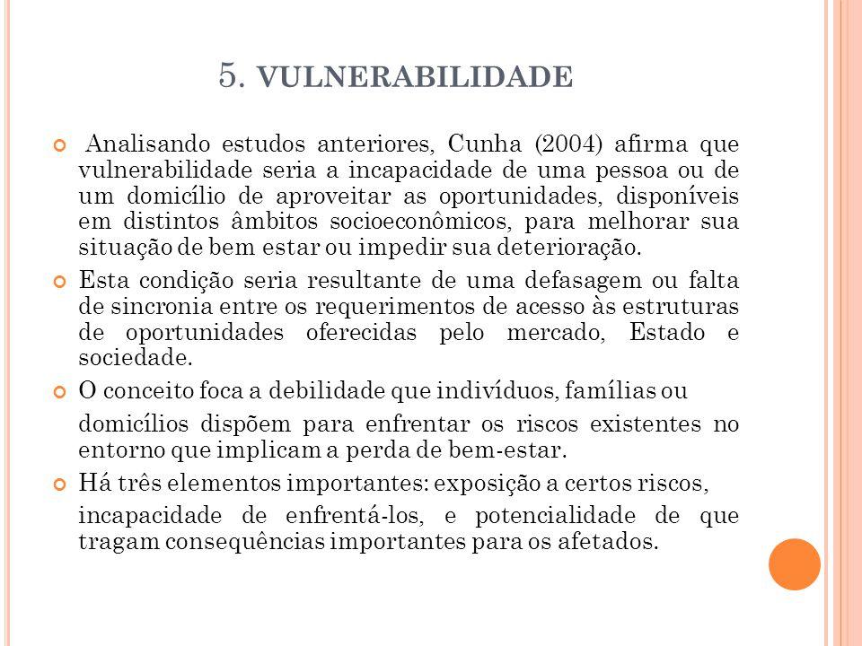 5. VULNERABILIDADE