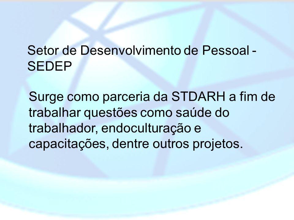 Setor de Desenvolvimento de Pessoal - SEDEP