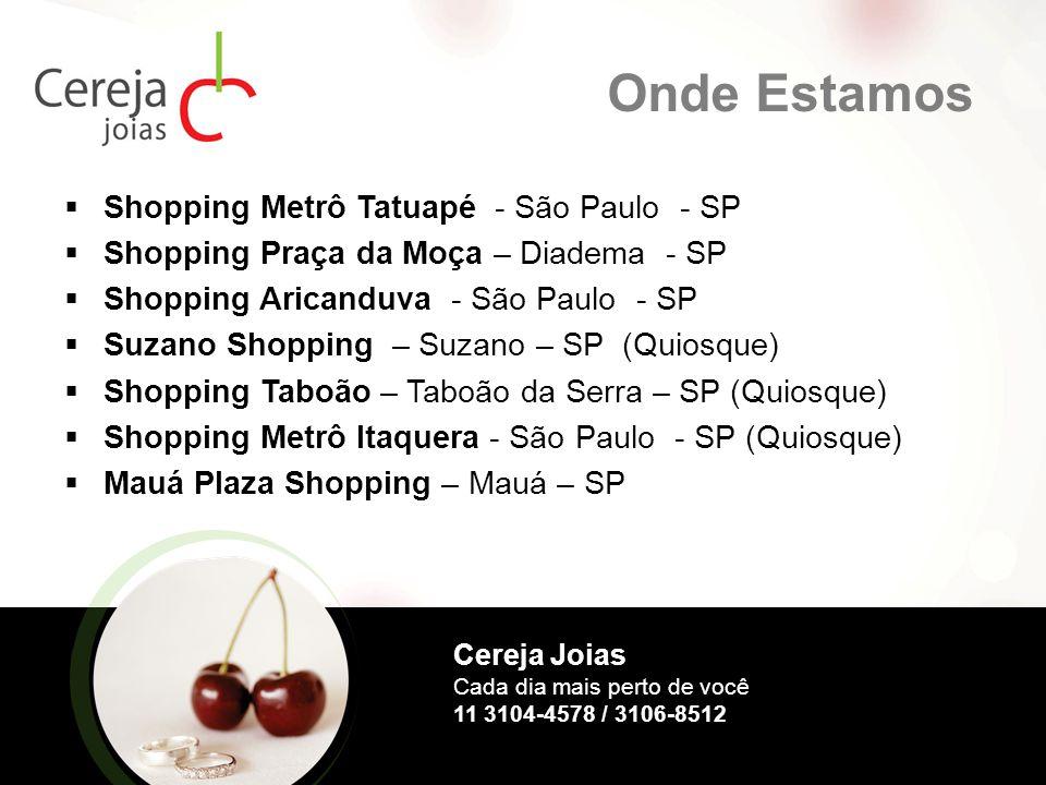 Onde Estamos Shopping Metrô Tatuapé - São Paulo - SP
